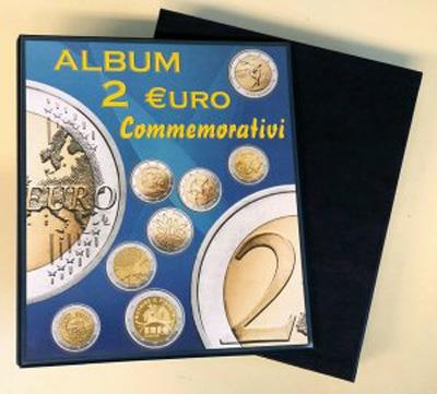 b5aefb1996 2020 - Raccoglitore Monete 2 euro - solo cartella vuota con custodia  plastica